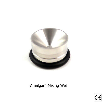 Restorative Mixing Amalgam Well Pot Non Slip Dental Instruments Stainless Steel