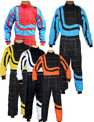 Junior/Children  Karting/Race Overall/Suits Polycotton  All Indoor/Outdoor