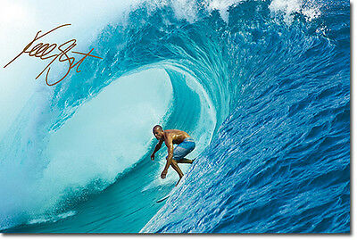 KELLY SLATER - SIGNED PHOTO PRINT POSTER - HIGHEST QUALITY