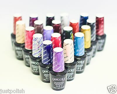 OPI Nail GelColor Gel Color 14 Colors of your choice .5oz/15mL