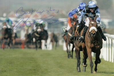 Robbie Power Silver Birch Hand Signed 6X4 Photo 2007 Grand National 7.