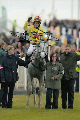 Daryl Jacob Neptune Collonges Hand Signed 6X4 Photo 2012 Grand National 2.