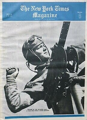 74 Eisenhower Montgomery Macarthur Patton Dillon Dean Sky Stars 1944 Wwii May 21