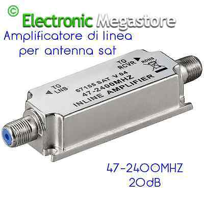 Amplificatore antenna Amplificatori di linea SAT-TV 5 2400