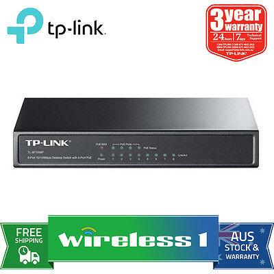 Au Stock TP-Link TL-SF1008P 8-Port 10/100M POE Switch