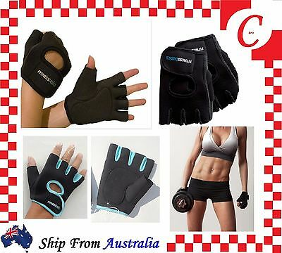 Antiskid GYM Bicycle Fitness Weight Lifting Training Workout Half Finger Gloves