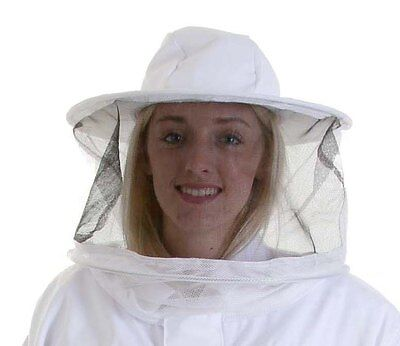 Beekeeping White Round Veil for Buzz Work Wear Suits