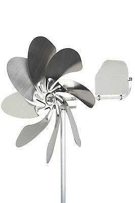 "A1005 - steel4you windmill ""Speedy 28 plus"" stainless steel garden decoration"