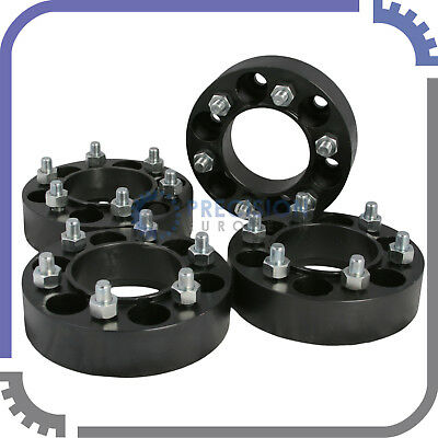 "4pc 1.5"" Wheel Spacers - 6 Lug Skid Steer - for Bobcat Case John Deere CAT Terex"