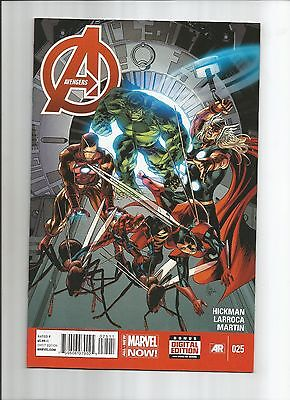 Avengers #25 (9.0) First Print Marvel Now