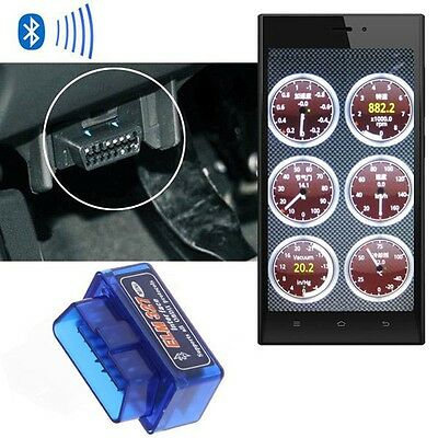 Advanced ELM327 OBD2 Car v1.5 Bluetooth Interface Scanner Adapter TORQUE ANDROID