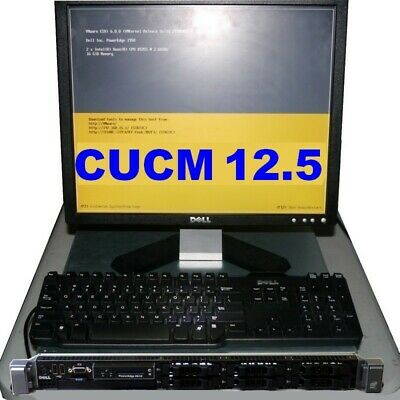 Cisco CUCM 11.5 VMware ESXi Server Dell R610 32GB CCNA CCNP-IE Voice Lab 11 11.0