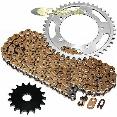 Golden O-Ring Drive Chain & Sprockets Kit Fits SUZUKI GSX-R1000 GSXR1000 2001-06