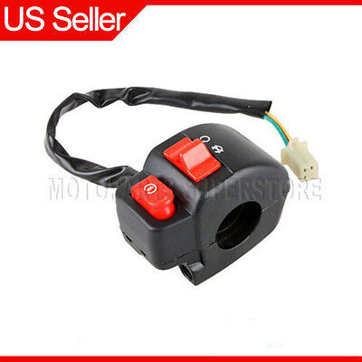 Right Handlebar Switch Assembly for GY6 50cc/&150cc MC-16K Scooter
