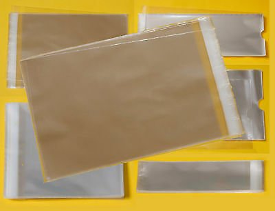 Clear Cello Bags - Cellophane Display Bag Small Gifts, Wax Melts, Jewellery