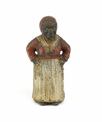 American Original Polychrome Aunt Jemima Cast Iron Bank. Unmarked.