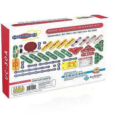 Elenco Snap Circuits UC-30 Upgrade Kit Converts SC-100 to SC-300 Ages 8+
