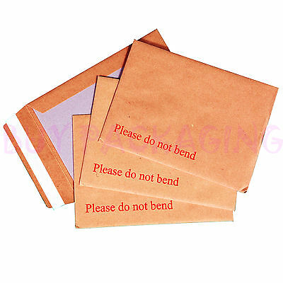 Hard Board Backed Envelopes 'Please do not bend' A5 / C5 - A4 / C4