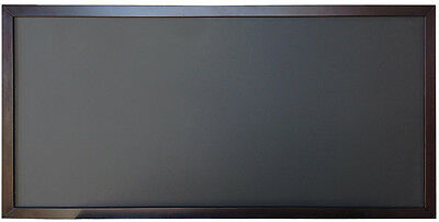 24x48 Wood Frame Black Chalkboard Menu Board Restaurant Cafe Sign