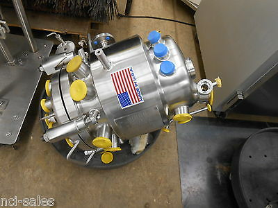Precision Stainless Inc. 35 Liter Reactor Vessel Eqip No. R1616, 316L S/s 190Lbs