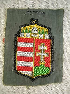 WW2 Bevo Hungarian Volunteer Sleeve Shield. Original! RARE!