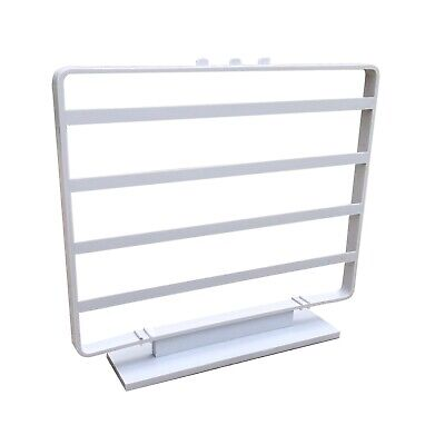"Earring Card Display Jewelry Display Rack Stand NIB 24 2"" x 2"" Cards Dove Grey"