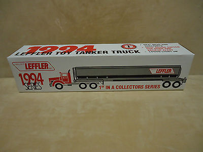1994 1St In Series,texaco Leffler Toy Tanker Truck, Lights And Sounds