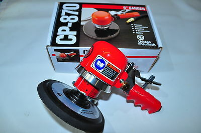 CHICAGO PNEUMATIC CP CPT 870 6 Inches Air Random Orbit Sander DA Sander