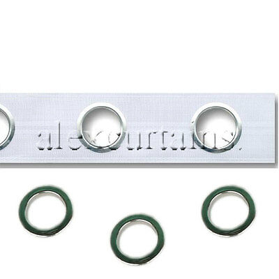 Curtain Heading Tape with eyelet rings (inner diameter is 40mm)