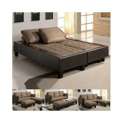 Quot3 piece sofa bed lounge couchquot for 3 piece sectional sofa bed
