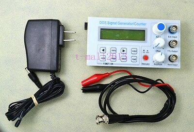 5MHz DDS Function Signal Generator Frequency Counter Square Wave Sweep BNC TTL