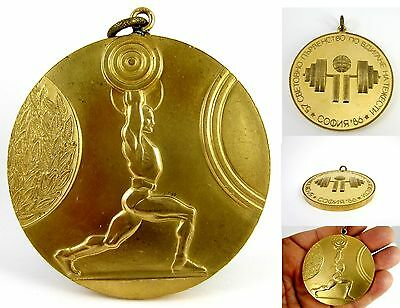 57th World Championships in Weightlifting in Bulgaria 1986 Medal of Participant