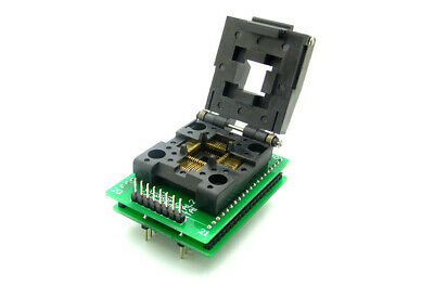 New TQFP44 QFP44 LQFP44 To DIP40 IC Programmer Adapter Test Socket 0.8mm Pitch