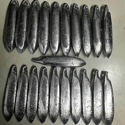 Snapper Reef Deep Sea Fishing Sinkers 8oz x 21 Other sizes available