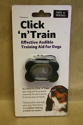 Click N Train, Clicker Effective Audible Training Aid For Dogs New!!!