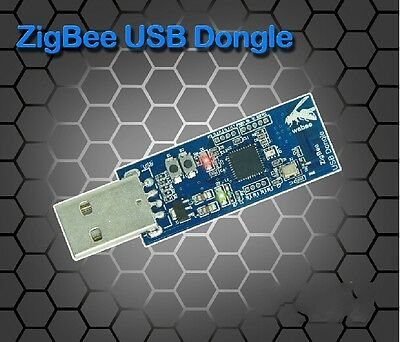 New CC2530 USB Dongle ZigBee Adapter Ethereal Protocol Analysis