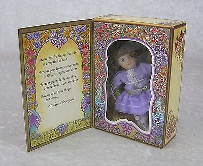 Marie Osmond Porcelain Greeting Card Doll-'Mothers Day' Limited Ed 1994 NRFB