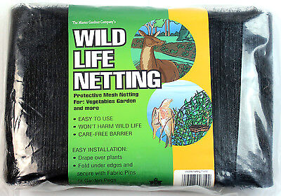 Wildlife Netting for Deer and Birds  - The Mastergardner Company - Various Sizes
