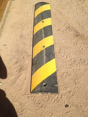 """Old Stock Easy Rider Speed Bump GNR 6' Striped Cats Eye Reflectors 72"""" Safety"""