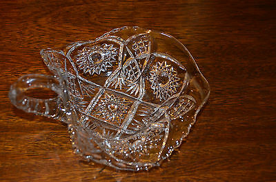 Vintage EAPG Handled Candy Serving Dish