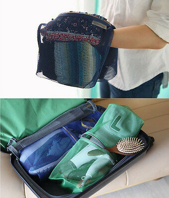 HIMORI Travelus Mesh Pouch - Large V.2- Travel Accessory Clothes Towel Organizer