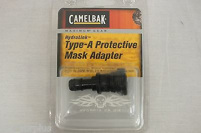 NEW CAMELBAK HYDROLINK TYPE-A PROTECTIVE GAS MASK ADAPTER S10 M-53 FM12 JSGPM