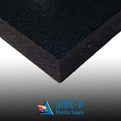 "6mm 1/4"" SINTRA PVC FOAM BOARD PLASTIC SHEETS **YOU PICK SIZE & COLOR***"