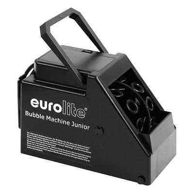 Eurolite B-60 Seifenblasenmaschine Junior | tragbare Seifenblasen Bubble Machine
