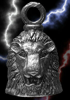 Lion of Judah Pewter Bell Travel for Motorcycle Gift Bag Legend Collectible