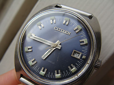 CITIZEN RARE VINTAGE WATCH MADE IN JAPAN 17 JEWELS AUTOMATIC NO CHRONOGRAPH