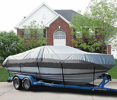 GREAT BOAT COVER FITS BOSTON WHALER DAUNTLESS 18 O/B 1998-2001