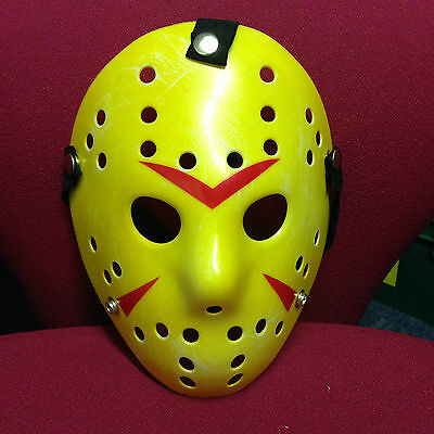 Friday the 13th Jason Vorhees Hockey Mask. Aged, Halloween!