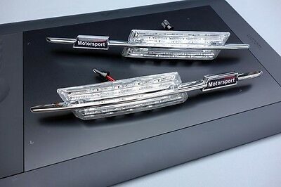 Clignotants Lateraux Motorsport Cristal Led Bmw Serie 3 E92 Coupe E93 Cabriolet