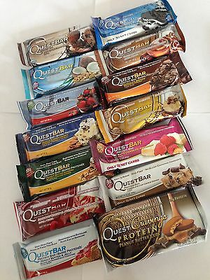 Quest Nutrition, 14 Mixed Protein Bars, Variety pack, Brand new stock